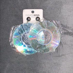 CD Disk Earrings